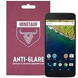Google Nexus 6P (2015) Screen Protector Pack, Matte Anti Glare by Minotaur (6 Screen Protectors)