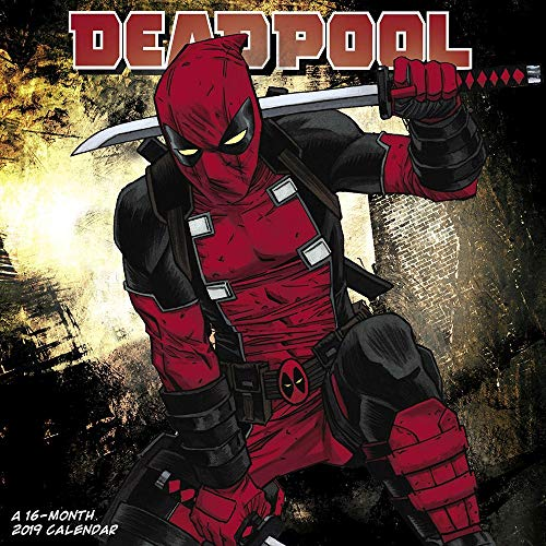 2019 Deadpool Comic 2019 Wall Calendar, Comedy Movies by ACCO Brands (Best Comedies Of 2019 And 2019)