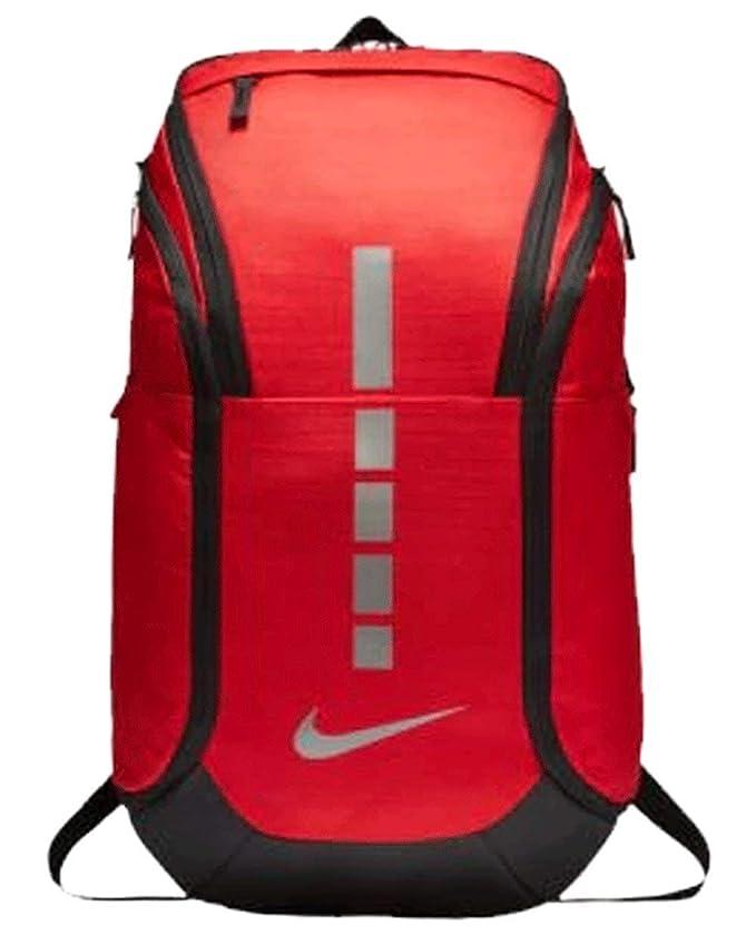 Nike Hoops Elite Pro Backpack UNIVERSITY RED/BLACK/MTLC COOL GREY