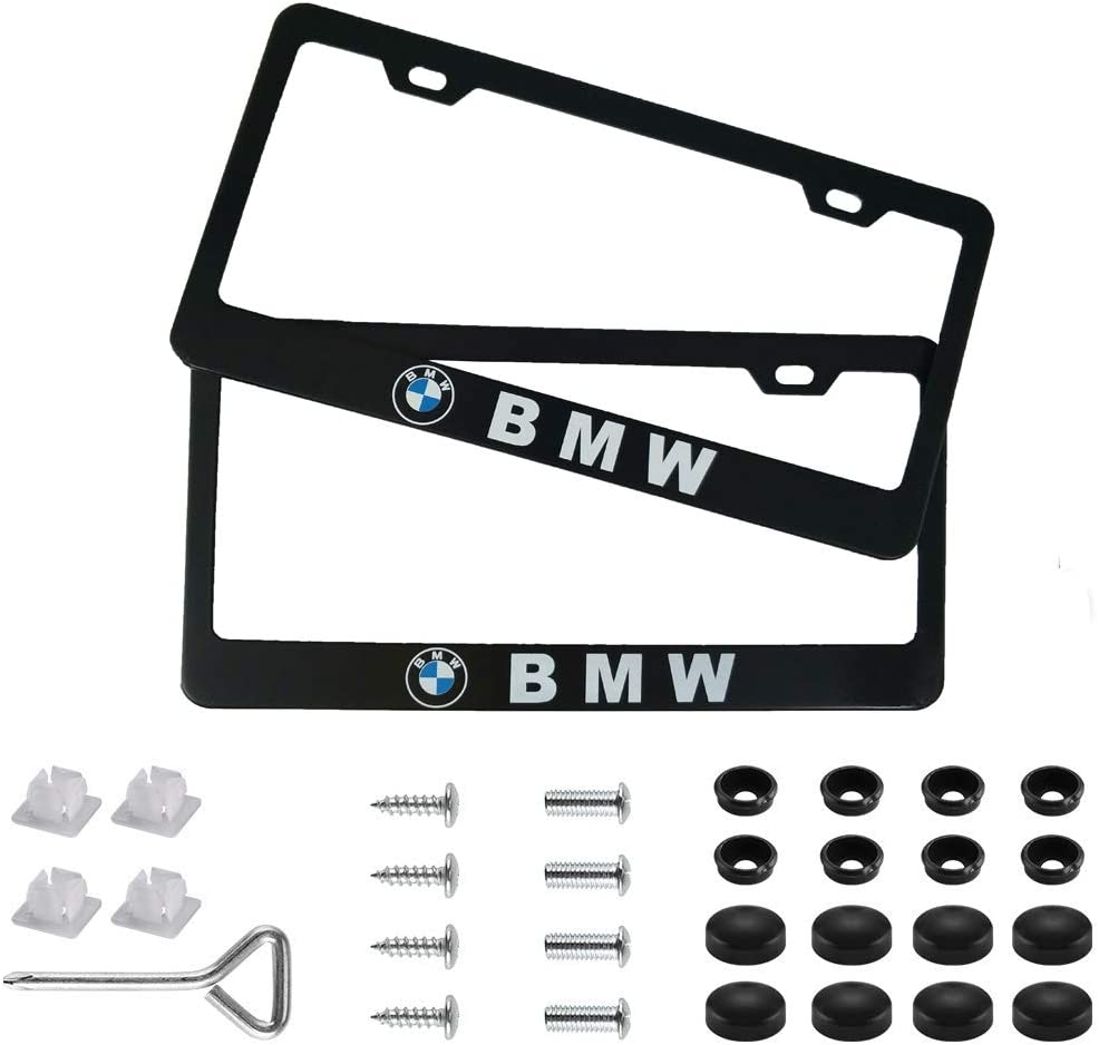 NEW 4X Car License Plate Frame Security Screw Bolt Caps Covers For Lincoln