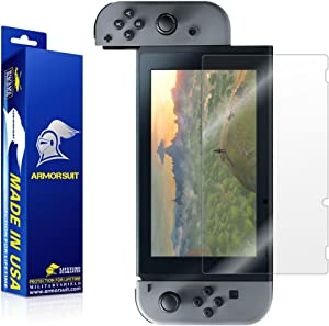 ArmorSuit MilitaryShield Screen Protector for Nintendo Switch - [Max Coverage] Anti-Bubble HD Clear Film