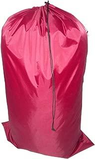 product image for Laundry Bag Heavy Duty Jumbo Sized Nylon Holds Approximately 40 lb Made in USA. (Maroon)