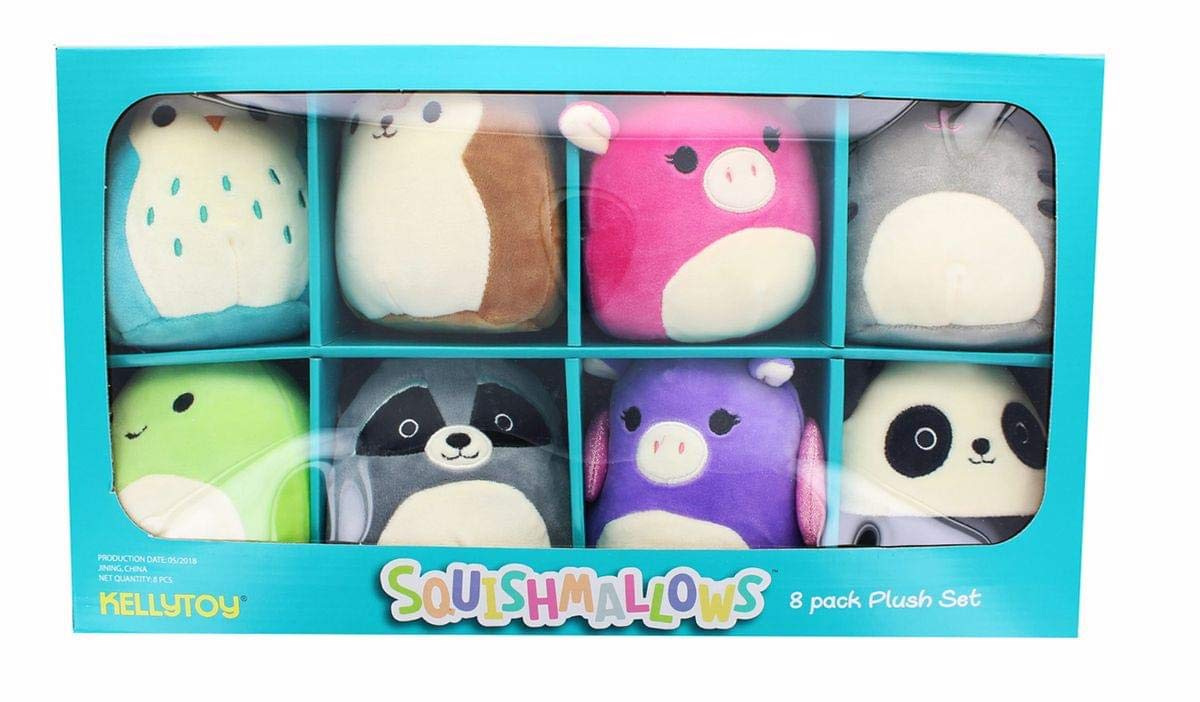 Amazon.com: Squishmallows minis - Juego de peluches (8 ...