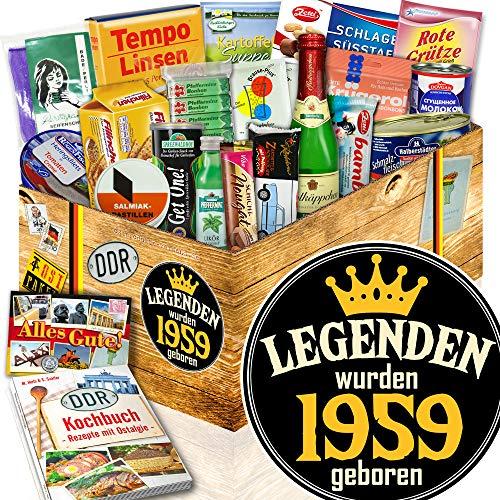 Legenden 1959 / Geschenke zum Geburtstag / DDR Spezialitäten Box DDR