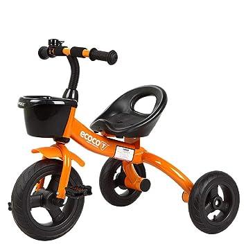 GIFT Triciclo De Niños 3 Ruedas De La Bicicleta De Equilibrio para Niños Bicicleta Andador De