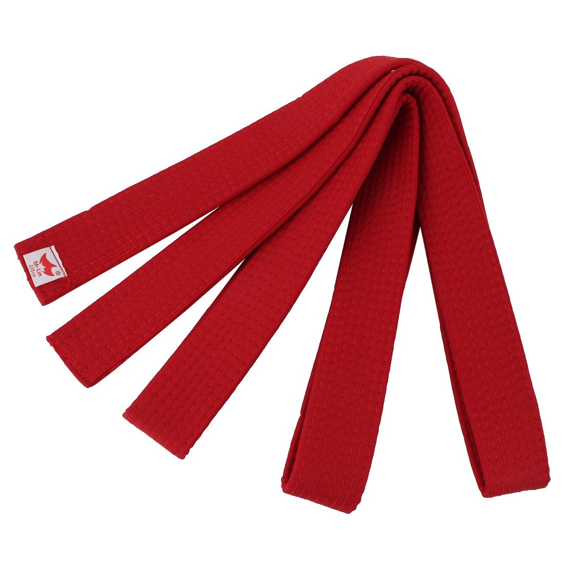 uxcellCotton Blend Master Martial Arts Kendo Karate Taekwondo Uniform Sporty Band Belt 220cm Length Blue a17052900ux0917