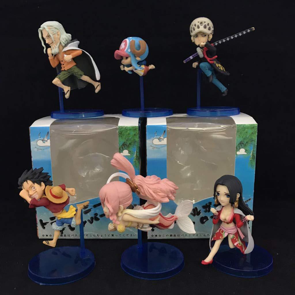 precios bajos WXFO Estatua De Juguete Modelo De De De Juguete Souvenir De Personajes De Dibujos Animados Manualidades    6 Juegos Modelo Anime  venta con descuento