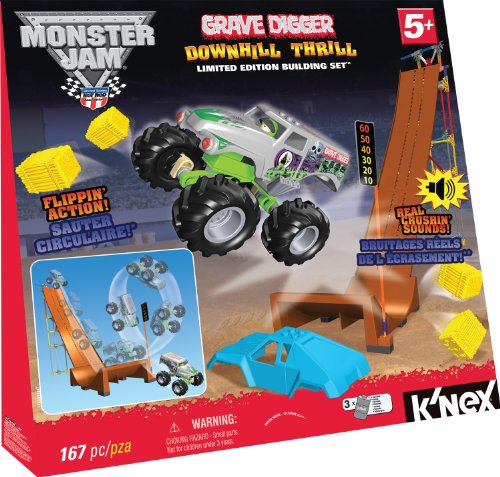 Knex Monster Jam Downhill Thrill Amazon Toys Games