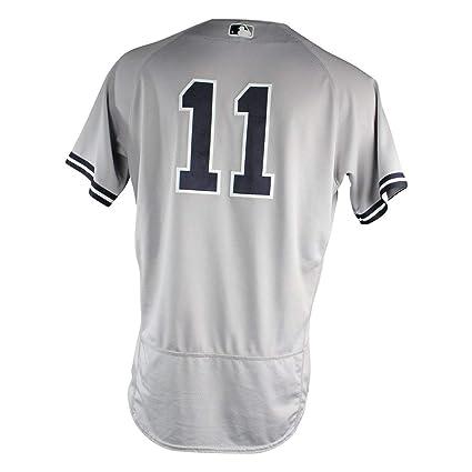 wholesale dealer 61d52 f387d Brett Gardner New York Yankees 2018 Road Game Used #11 ...