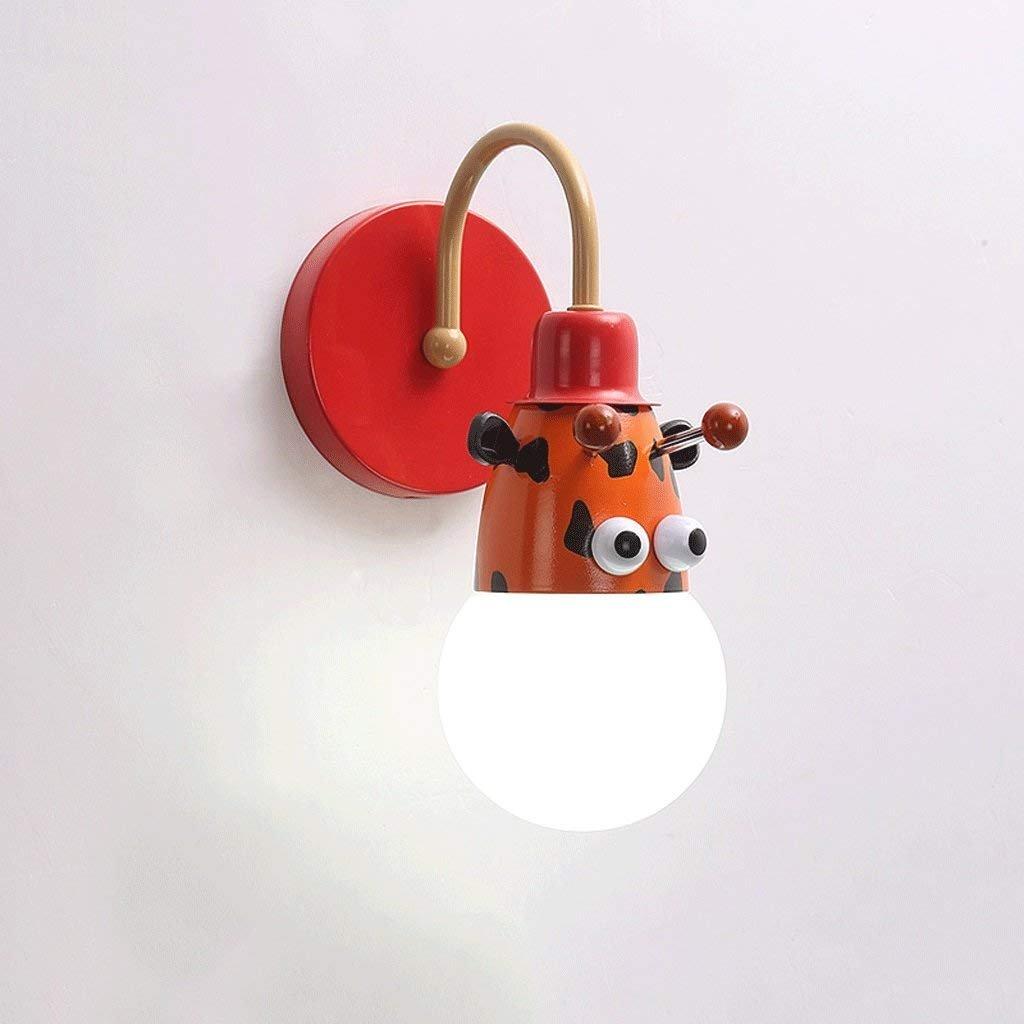 XIN Niños 'S Lámpara de Pared Cama Luz de creativos' Noche Niños de Dibujos Animados creativos' de S Habitación Luz Niño Habitación Chica Luz Animal Princesa Luz,CCC 581463