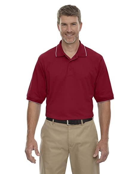 Extreme Mens Jersey Polo with Pencil Stripe 85032