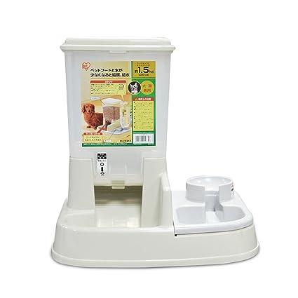 PETCUTE 2 en 1 alimentador automático de mascotas / dispensador de agua y comida para perros