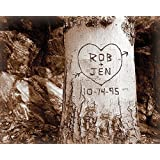 Forever My Love Tree Personalized Print