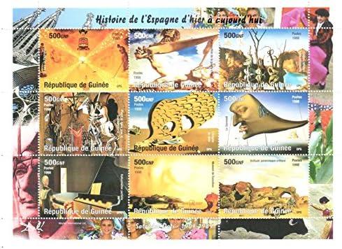 Sellos de Arte - sellos Salvador Dali para la filatelia: Amazon.es: Electrónica