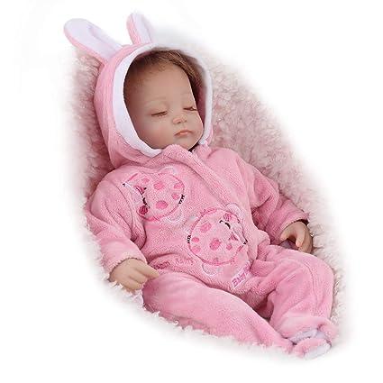 Amazon Com Mikaiqi Reborn Baby Doll Handmade Soft Silicone Vinyl