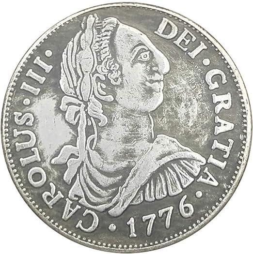Plata Antigüedades, 1776 Carlos III de España para Hacer Las ...