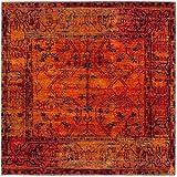 Safavieh Vintage Hamadan Collection VTH216C Orange Area Rug (6'7″ Square) Review