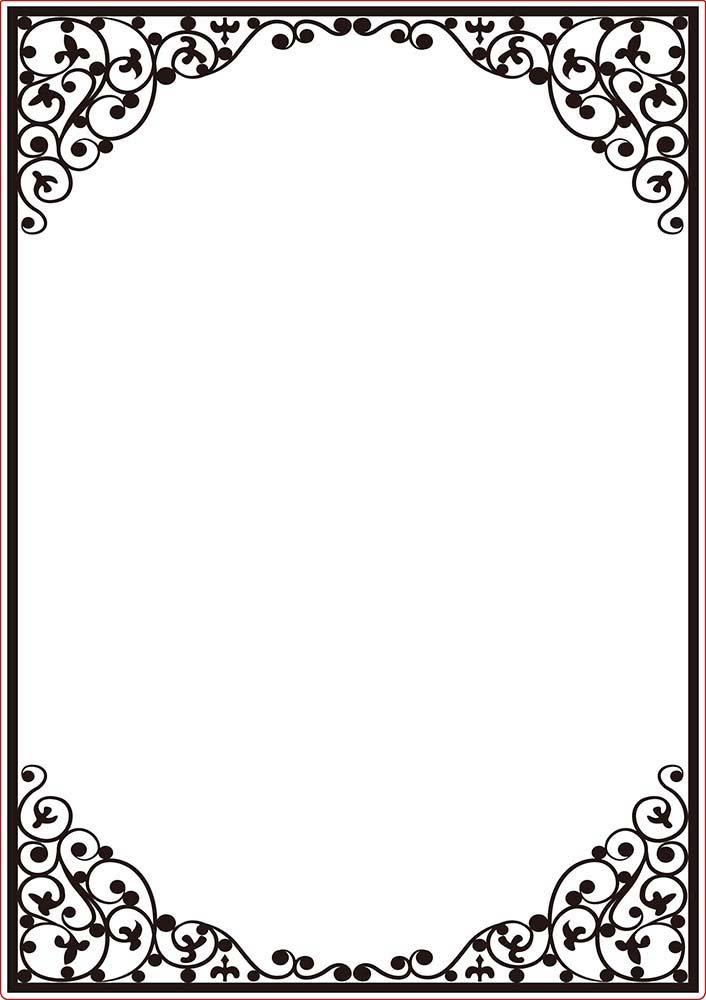 Darice Embossing Folder Cartella per Goffratura Mascherina Cornice Ovale, Plastica, Trasparente, 29.7x21x0.3 cm DAR_23034