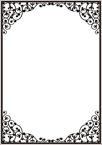Darice Oval Embossing Template Frame, Transparent, A4: Amazon.co.uk ...
