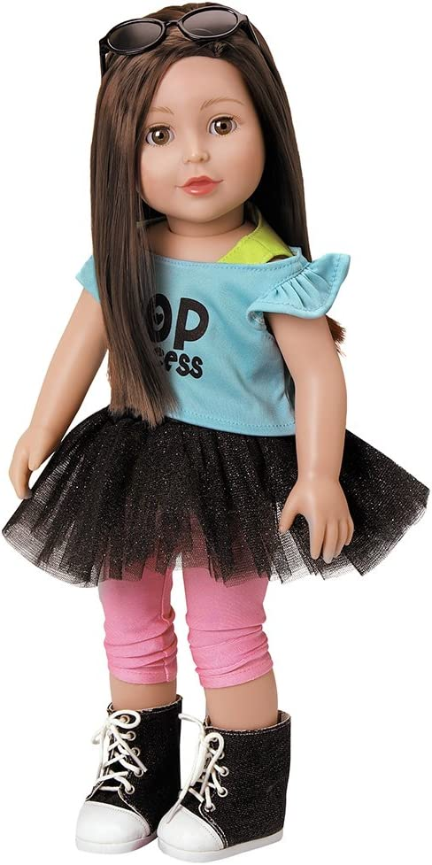 Adora Amazing Girls 18 Inch Doll, Emma (Amazon Exclusive) Compatible With Most 18 Inch Doll Accessories And Clothing