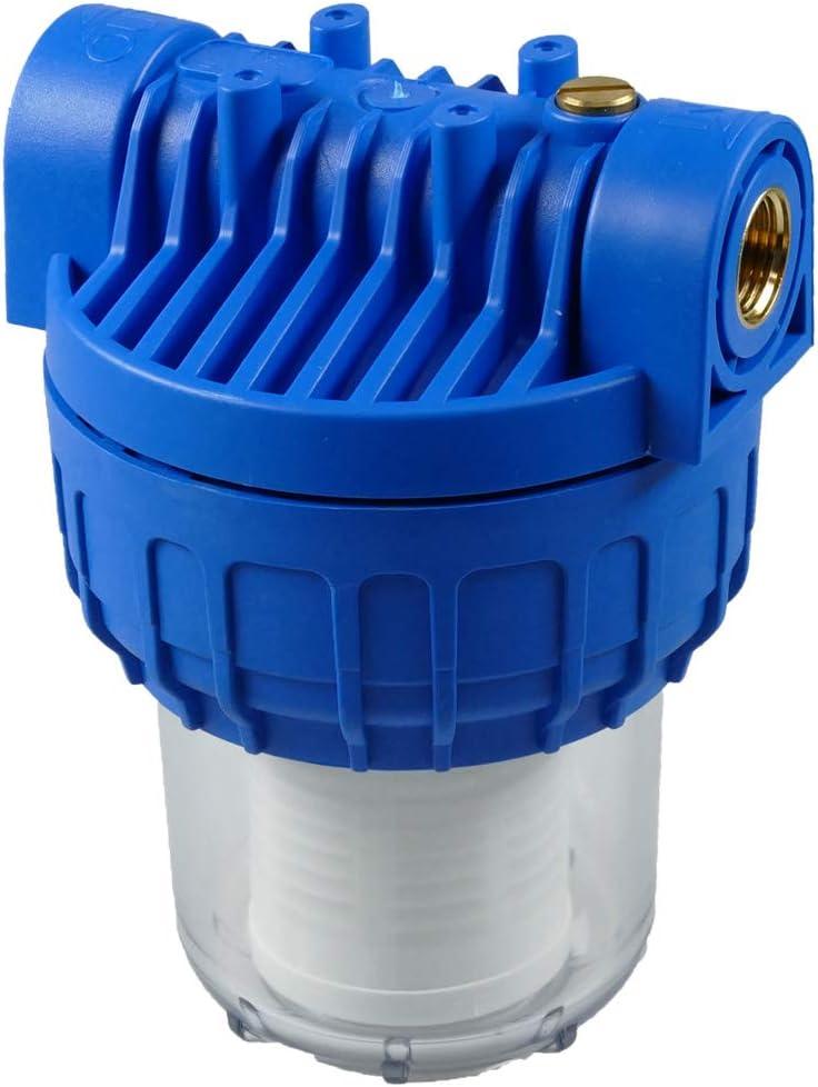 Wasserfilter P603 mit Filtereinsatz 1//2 Zoll 5