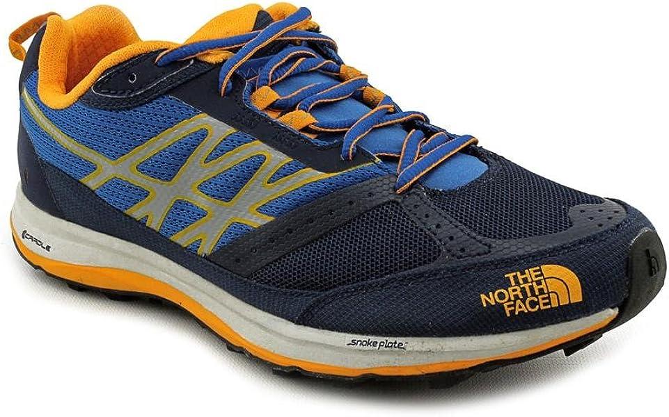 a3b85436dfe2 The North Face Ultra Guide Trail Running Shoe - Men s Cosmic Blue Koi Orange  13