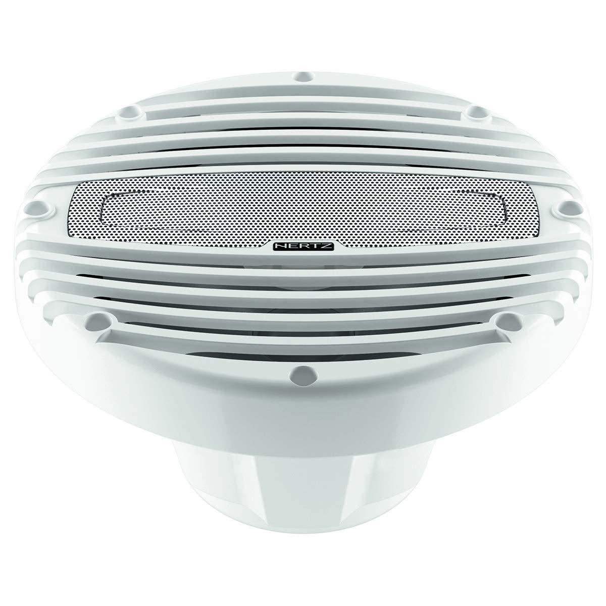 "Hertz Audio HMX 8 8"" Marine Coaxial Speakers 4 Ohm 200W"