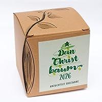"""Geschenk-Anzuchtset""""Dein Christbaum 2026"""""""
