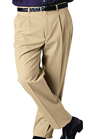 8c51edf68d191 Men s Formal Beige Big Size Pleated Trouser - Plus Size 36