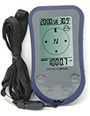 MISOL 1 unit of Digital LCD compass altimeter thermometer barometer, Water proof