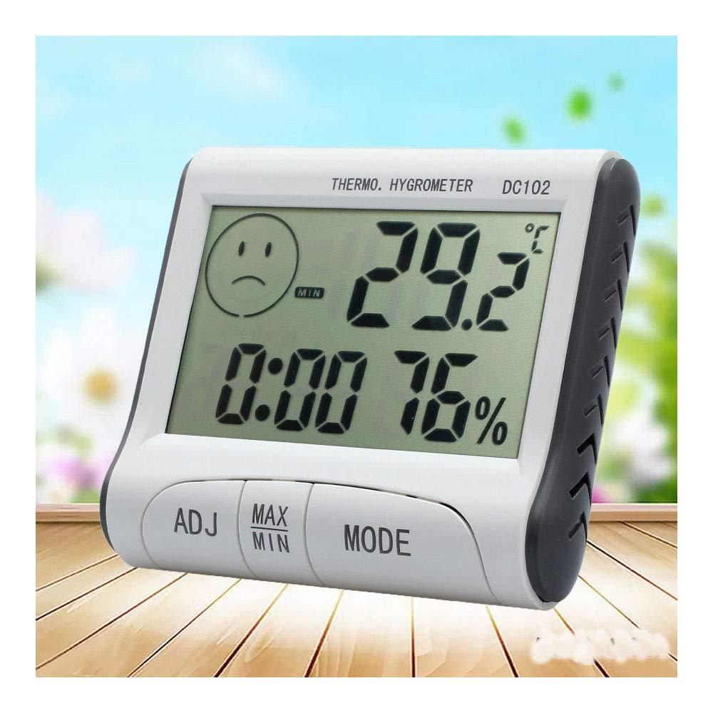 Digital LCD Mini Thermometer Humidity Meter Room Indoor Temperature Hygrometer
