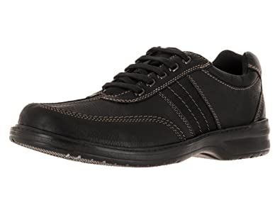 Clarks Men's Sherwin Way Black Tumbled Leather ...