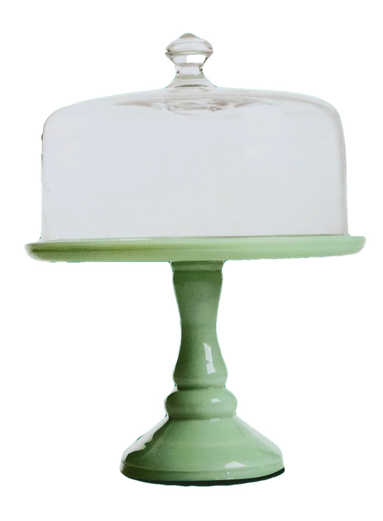 The Pioneer Woman Timeless Beauty 10 inch Pedestal Cake Stand with Glass Cover