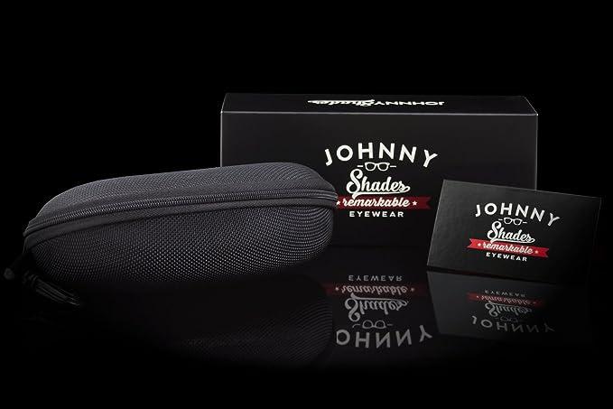 001600916e Johnny Shades Executive Classic Aluminum Sunglasses