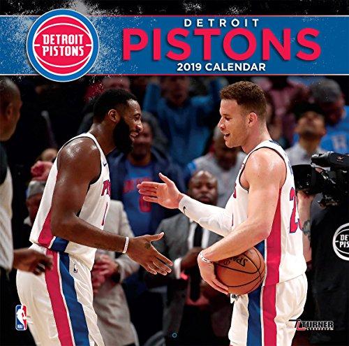 Turner 1 Sport Detroit Pistons 2019 12X12 Team Wall Calendar Office Wall Calendar (19998011877)