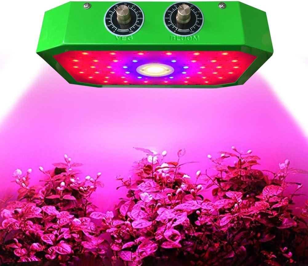 ZHICHUAN LED Grow Light, 1000W Chips Grow Lámpara De Planta Con Luz Infrarroja UV Azul Roja Para Caja De Cultivo Interior Planta De Invernadero Crecimiento De Flores Vegetales