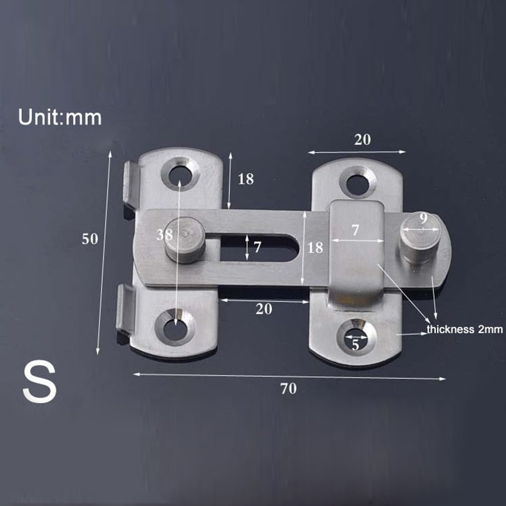 Small Gate Silver Gate Fittings Hinges /& Latch