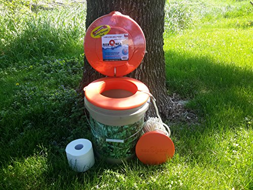 ResQseat Life Ring by Waterlogged Outdoors | Life Preserver Ring, Bucket Toilet Seat, Bucket Seat, Bucket Lid, Fishing Equipment + Tested and Proven + Fits as a 5gal Bucket Lid by Waterlogged Outdoors LLC (Image #5)