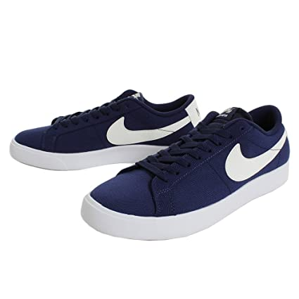 cheaper 07a79 e8fc9 Amazon.com: Nike SB Blazer Vapor TXT Skateboard Shoes Blue ...