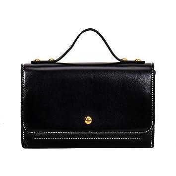 Frauen Umhängetasche Hohe Qualität Pu Stoff Magnetische Schnalle Hit Farbe  Kleine Quadratische Tasche Volltonfarbe Trend Wilde