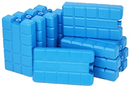 Compra com-four® 9X Big Pack de Hielo en Azul - Elementos de ...