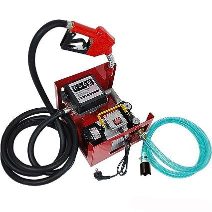 Oukaning - Bomba diésel autoaspirante, bomba de aceite, 230 V, 60 ...