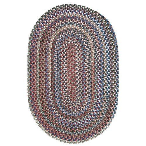 Oak Harbour Rug, 3 by 5-Feet, Dusk (Wool Rugs Quality)