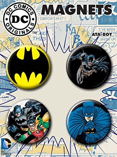 Ata-Boy DC Comics Batman Set of 4 1.25