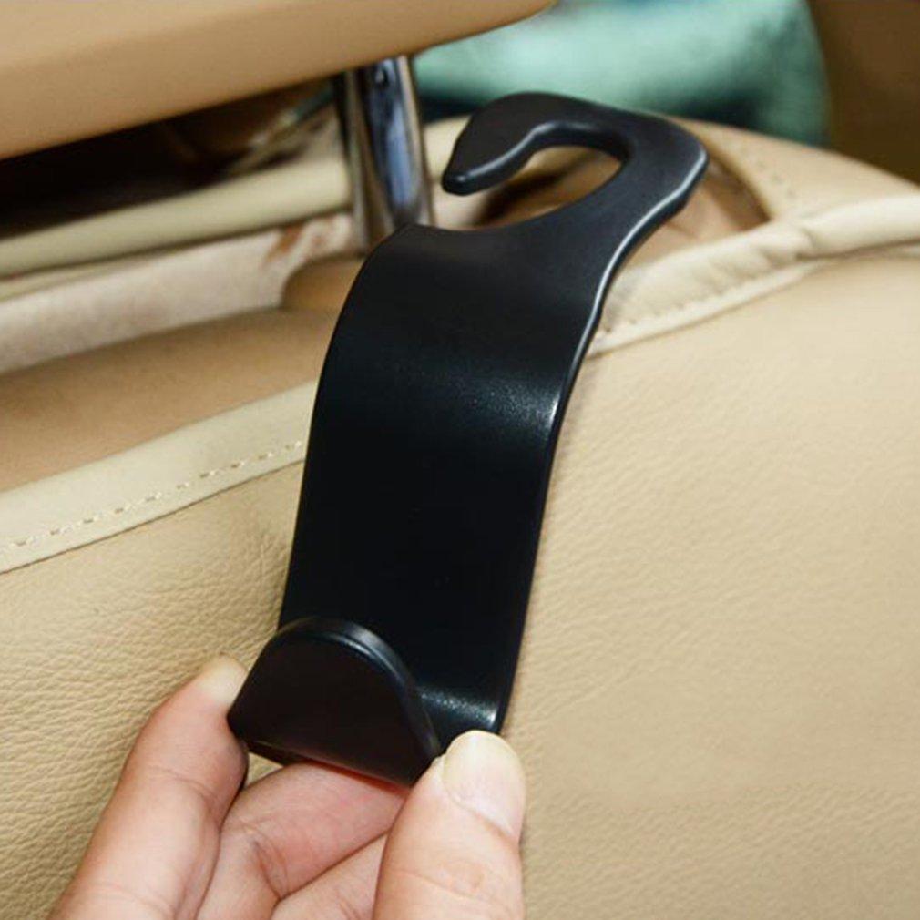 4pcs//set Universal car SUV sedile posteriore poggiatesta gancio ganci sedile posteriore titolari