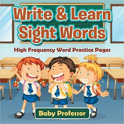 Book Write & Learn Sight Words : High Frequency Word Practice Pages