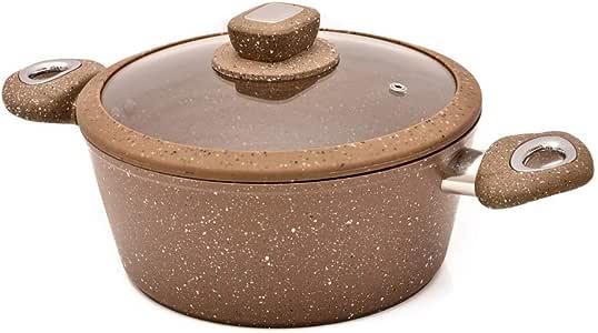 Bsurrah Forgaed Granite Sauce pot 26cm