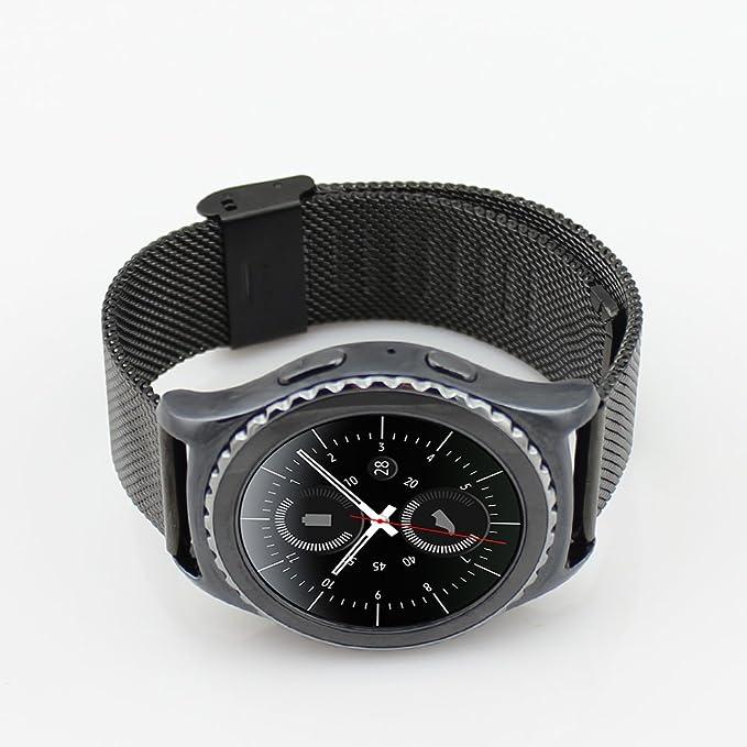 Samsung Gear S3 Acero inoxidable Correa de reloj / banda de IWatch / cadena de reloj / watch band, KuGi ® Samsung Gear S3 Correa de reloj 24mm de alta ...