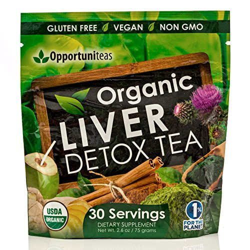 Organic Liver Detox Tea Supplement product image