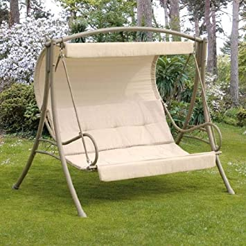 Etonnant Replacement Canopy For Suntime Seville Cappuccino Swing Seat